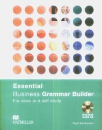 Business Grammar Builder Essential CD - Paul Emmerson