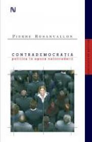 Contrademocratia - Pierre Rosanvallon