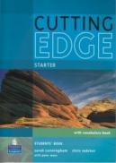 Cutting Edge Starter Student's Book + vocabulary book - Sarah Cunningham , Chris Redston