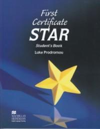 First Certificate Star Student's Book - Luke Prodromou