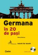 Germana in 20 de pasi (carte cu cd)  - Miruna Bolocan