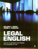 Legal English - William R. Mckay, Helen E. Charlton