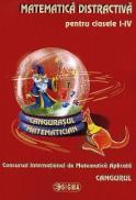 Matematica distractiva pentru clasele I-IV, Concursul International de Matematica Aplicata Cangurul - ***
