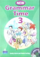 New Grammar Time 3 + CD - Sandy Jervis, Maria Carling