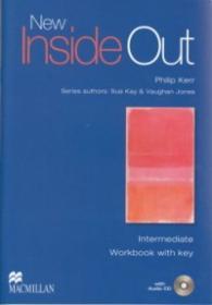 New Inside Out Intermediate Workbook with key +CD - Philip Kerr , Sue Kay , Vaughan Jones