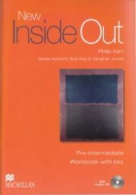 New Inside Out Pre-Intermediate Workbook with key +CD - Philip Kerr , Sue Kay , Vaughan Jones