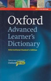Oxford Advanced Learner's Dictionary with CD International Student's Edition -