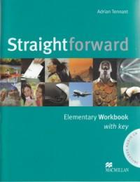 Straightforward Elementary Worbook with key +CD - Adrian Tennant