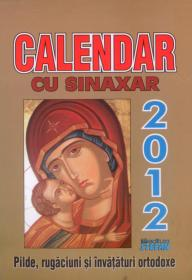 Calendar cu sinaxar 2012 - ***