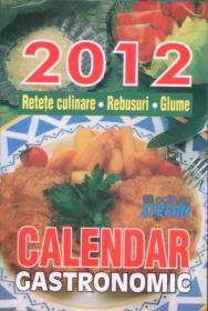 Calendar gastronomic 2012 - ***