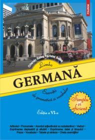 Limba germana: exercitii de gramatica si vocabular - Orlando Balas, Cristel Balas