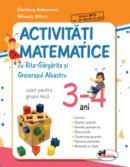 Activitati matematice cu Rita Gargarita si Greierasul Albastru - (caiet) grupa mica 3-4 ani - Mihaela Mitroi , Stefania Antonovici