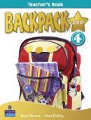 Backpack Gold 4 Teachers Book - Mario Herrera , Diane Pinkley