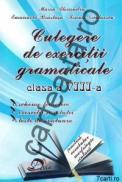 Culegere de exercitii gramaticale - clasa a VIII-a - Ioana Nicolaescu; Marin Alexandru; Emanuela Braslasu
