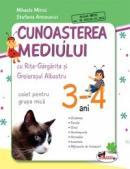 Cunoasterea mediului cu Rita Gargarita si Greierasul Albastru - (caiet) grupa mica 3-4 ani - Mihaela Mitroi , Stefania Antonovici