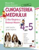 Educarea limbajului cu Rita Gargarita si Greierasul Albastru - (caiet) grupa mijlocie 4-5 ani - Stefania Antonovici