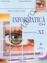 Informatica C++ - clasa a XI-a - Sanda Junea; Adriana Simulescu