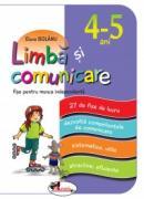 Limba si comunicare - fise pentru munca independenta, grupa mijlocie 4-5 ani - Elena Bolanu
