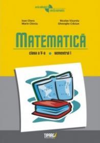 Matematica clasa a V-a, semestrul I - Ioan Chera, Nicolae Vizuroiu, Marin Chirciu