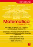Matematica clasa a VI-a. Breviar teoretic cu exercitii si probleme rezolvate - Simion Petre, Victor Nicolae s.a.