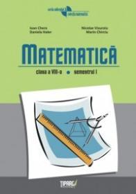 Matematica clasa a VIII-a, semestrul I - Ioan Chera, Daniela Haler, Marin Chirciu, Nicolae Vizuroiu