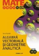 Algebra Vectoriala si Geometrie Analitica. Clasele Ix-x - Nachila Petre