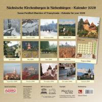 Calendar 2008. Biserici Fortificate Sasesti Din Transilvania. - ***