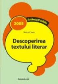 Descoperirea Textului Literar - Craus Victor
