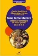 Mari Teme Literare. Dictionar-antologie De Texte Pentru Clasa A Ix-a  - Craciun Gheorghe, Sindrilaru Florin