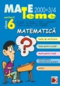 Matematica. Clasa A Vi-a. Partea A Ii-a - Giurgiu M., Poponea N., Badea A., Stanciulescu I., Moroti C., Nicolaescu Gh., Drugan Gh., Ghica I., Cojocaru E., Ilie J., Puican F.