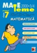 Matematica. Clasa A Vii-a. Partea Ii - Badea A., Stanciulescu I., Moroti C., Nicolaescu Gh., Drugan Gh., Ghica I., Giurgiu M., Poponea N., Cojocaru E., Ilie J., Puican F.