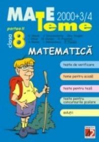 Matematica. Clasa A Viii-a. Partea A Ii-a - Moroti C., Smarandache V., Drugan Gh., Ghica I., Giurgiu M., Poponea N., Badea A., Stanciulescu I., Puican F.