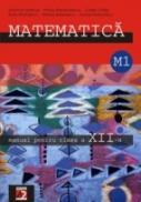 Matematica. Manual Pentru Clasa A Xii-a. M1 - Alexandrescu Petrus, Petriceanu Daniel, Radulescu Marius, Radulescu Sorin, Marcus Solomon, Chites Costel