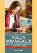 Poezia Romaneasca. Antologie De Texte Comentate si Aprecieri Critice - Sindrilaru Florin, Boghici Cezar, Dinu Gabriel