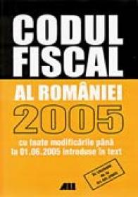 Codul Fiscal 2005. Actualizat (editia A  Ii-a) - Paul Stewart, Chriss Riddell