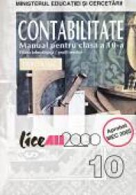 Contabilitate. Manual Pentru Clasa A X-a - Violeta Isai