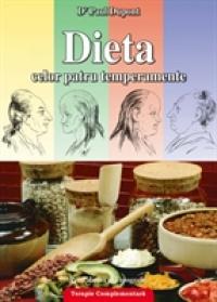 Dieta celor 4 temperamente - Dr Paul Dupont