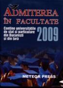 Admiterea in facultate 2009 - ***