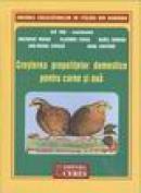 Cresterea prepelitelor domestice pentru carne si oua - I. Van,g. Marin