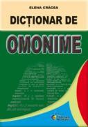 Dictionar de omonime - Elene Cracea