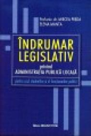 Indrumator Legislativ privind Administratia Publica Locala - Prof.univ.dr. Mircea Preda, Elena Manta