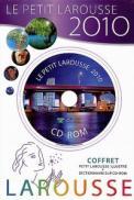 Le Petit Larousse 2010. Coffret (Petit Larouse illustre + dictionnaire sur CD-ROM) - ***