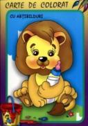 Leul - Carte de colorat cu abtibilduri - ***