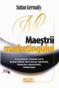 Maestrii marketingului -  Sultan Kermally