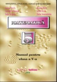 Matematica - Manual pentru clasa a V-a - George Turcitu, Nicolae Ghiciu, Constantin Basarab, Ionica Rizea, Tudor Dragonu, Stefan Smarandache
