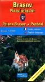 Brasov, planul orasului - Poiana Brasov, Predeal -