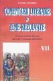 Comentarii literare si teste rezolvate cl. VII - Cecilia Stoleru