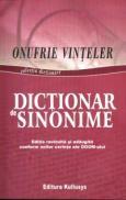 Dictionar de Sinonime - Onufrie Vinteler