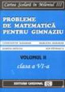 Exercitii si probleme de matematica pentru clasa a VI-a (volumul II) - Constantin Basarab, Marlena Basarab, Dorina Dracea, Ion Patrascu