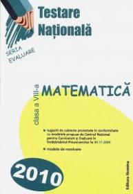 Matematica. Testare nationala 2010 - Petrus Alexandrescu (coord.)